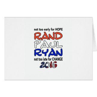 Präsidentschaftswahl 2016 Rand-Pauls Ryan Karte