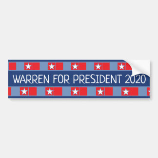 Präsidentschaftswahl 2020 ELIZABETH WAREN Autoaufkleber