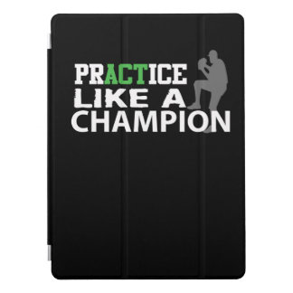 Praxis mag Meister-Baseball-Fänger iPad Pro Cover
