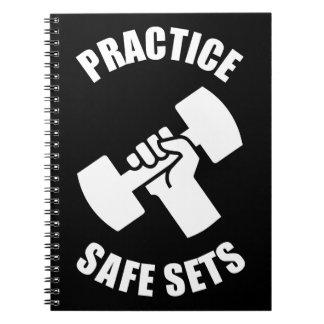 Praxis-sichere Sets - Turnhallen-Spaß Notizblock