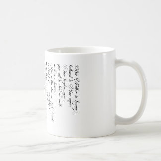 Prayer Cup des Lords Kaffeetasse