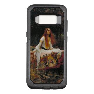 Pre-Raphaelitekunst-Dame der Schalotte OtterBox Commuter Samsung Galaxy S8 Hülle