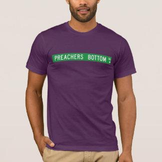 Prediger-unterer Dr., Straßenschild, N. Carolina, T-Shirt