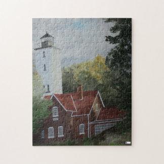 Presque Ilse Leuchtturm-Puzzlespiel Puzzle