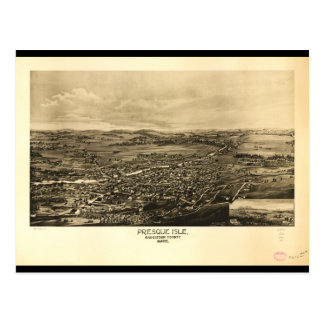 Presque Insel Aroostook County Maine (1894) Postkarte