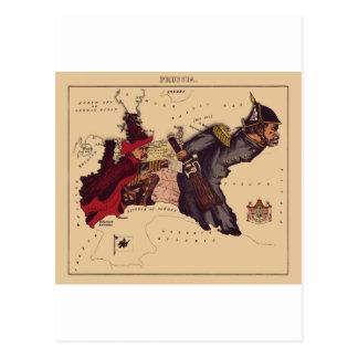 Preußen Postkarte