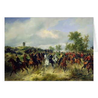 Preussische Kavallerie auf Expedition, c.19th Karte