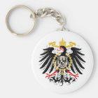 Preussisches rotes Schwarzes und Gold Eagles Schlüsselanhänger