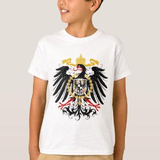 Preussisches rotes Schwarzes und Gold Eagles T-Shirt