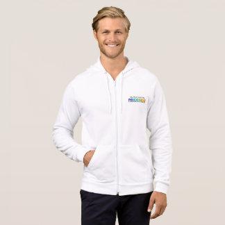 PRIDESIDE® Kalifornien Fleece-ZipHoodie Hoodie