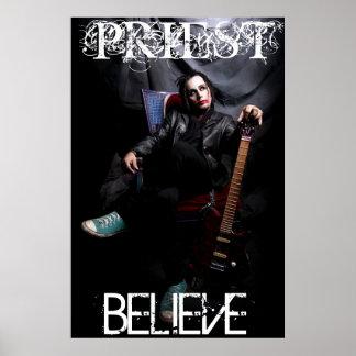 PRIESTER GLAUBEN Plakat