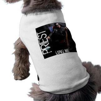 PRIESTER-KAMPFLÄUFER-WELThaustier-Kleidung Ärmelfreies Hunde-Shirt