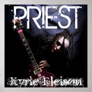 """PRIESTER """"KYRIE ELEISON"""" PLAKAT"""