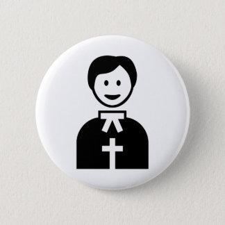 Priester Runder Button 5,7 Cm
