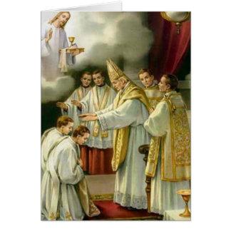 Priesterschafts-Jahrestags-Bischofs-Klassifikation Grußkarte