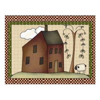 Prim Haus irgendeine Zweckpostkarte Postkarte