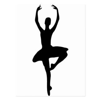 prima Ballerinaikone Postkarten