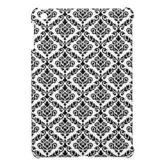 Prima Damast-Muster-Schwarzes auf Weiß iPad Mini Cover