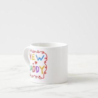 Primärfarbneue Vati-Geschenke Espresso-Tassen