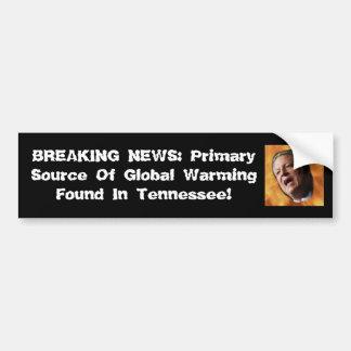 Primärquelle der globalen Erwärmung Autoaufkleber