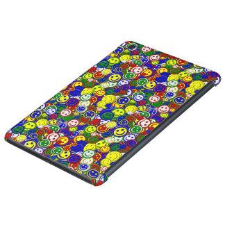 PrimärSmiley Perle-BLAUER-iPAD MINIkasten iPad Mini Cover