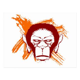 Primat Postkarte
