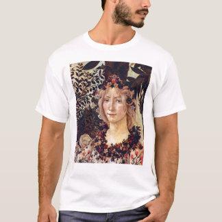 Primavera, Detail Flora, Botticelli C. 1482 T-Shirt