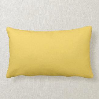 Primel-gelbe Farbe Lendenkissen