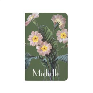 Primel (Primula Aucalis) Taschennotizbuch