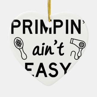 Primpin ist nicht einfach keramik ornament