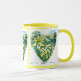 Primula veris grüne Herz Cowslip Tasse