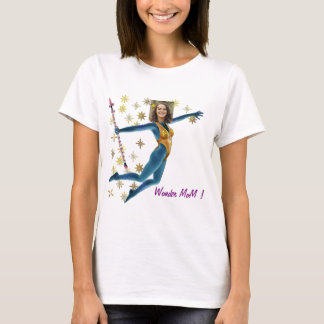 Princess Fairy Wand, Blue - with YOUR Foto- T-Shirt
