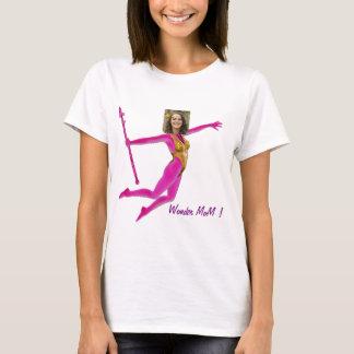 Princess Fairy Wand, Pink Fushia - with YOUR Pho T-Shirt