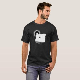 Prineville Oregon GesamtSonnenfinsternis mit Datum T-Shirt