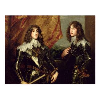 Prinz Charles Louis Elector Palatine Postkarte