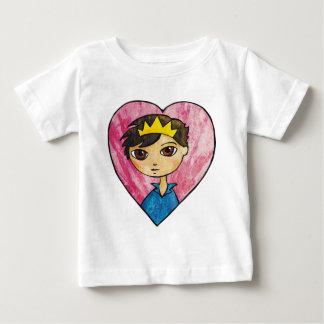 Prinz der Herzen Baby T-shirt