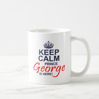 Prinz George ist hier Kaffeetasse