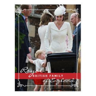 Prinz George - Kate Middleton Königsfamilie Postkarte