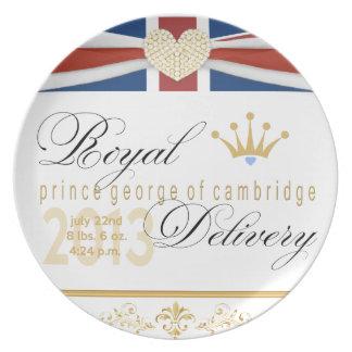 Prinz George von Cambridge-Andenken-Platte 2013 Teller