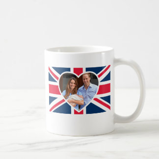 Prinz George - William u. Kate Kaffeetasse
