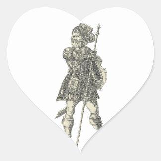 Prinz Henry von Portugal Herz-Aufkleber