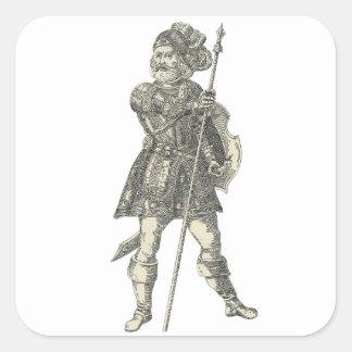 Prinz Henry von Portugal Quadratischer Aufkleber