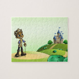 """Prinz Jamal"" 8x10 Foto-Puzzlespiel mit Puzzle"