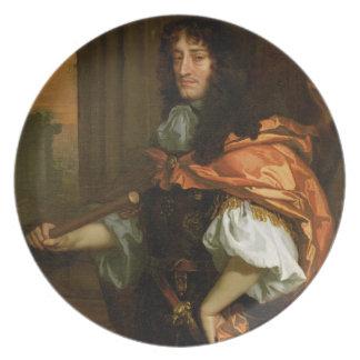 Prinz Rupert (1619-82), c.1666-71 (Öl auf Leinwand Flacher Teller