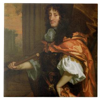 Prinz Rupert (1619-82), c.1666-71 (Öl auf Leinwand Große Quadratische Fliese