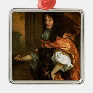 Prinz Rupert (1619-82), c.1666-71 (Öl auf Quadratisches Silberfarbenes Ornament