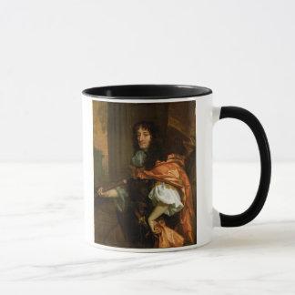 Prinz Rupert (1619-82), c.1666-71 (Öl auf Tasse
