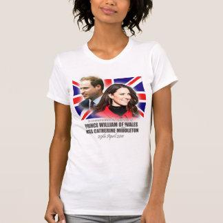 Prinz William - Kate Middleton Hochzeits-Shirt T-Shirt
