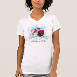 Prinz William u. Kate königliches T Shirt