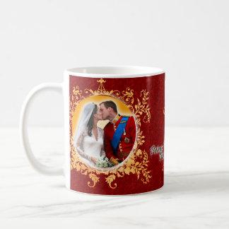 Prinz William u. Kate Kuss-Tasse Tasse